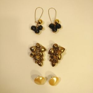 Lot of 6 piece vintage jewelry